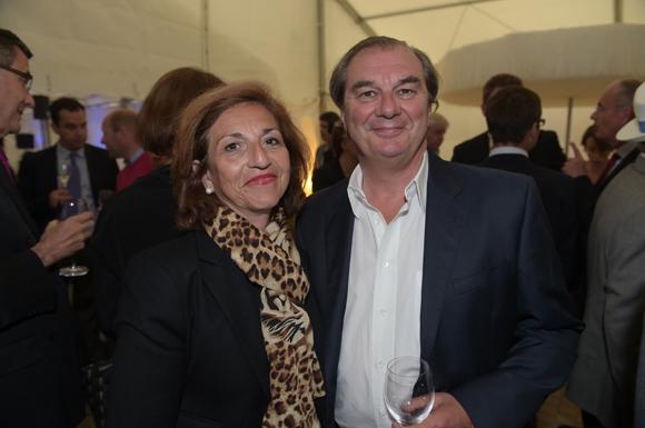 31. Brigitte Honegger et son époux Jérôme (Comptoir Bressan de papeterie)
