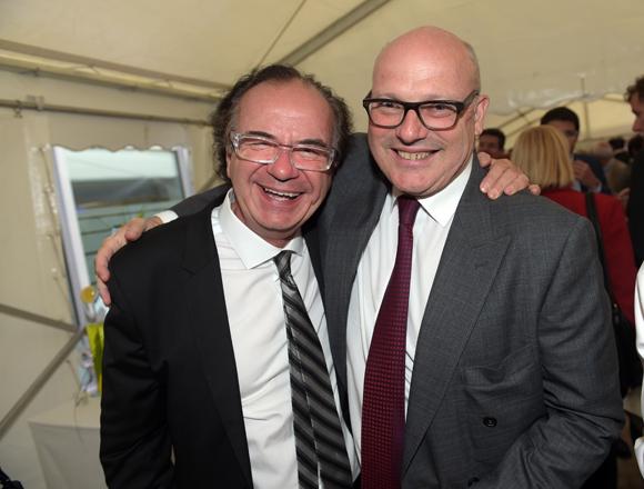 32. Serge Mathieu (Sovitrat) et Didier Caudard-Breille  (DCB International)