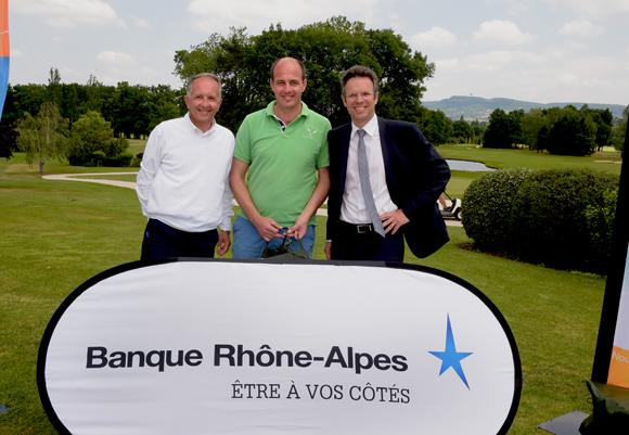 33. Eric Vernusse, Guillaume Daudre et Christophe Caniffi (Banque Rhône-Alpes)