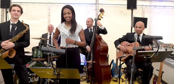 3. La chanteuse Célia et son groupe Jean-Pierre Verdolini Jazz Band