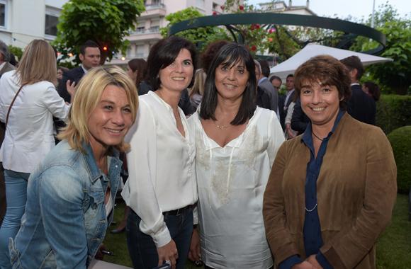 34. Muriel Ecochard Larréché (Le Progrès), Delphine Rollet (Pectine Evènements), Sylvie Peruchon (Consult & Events) et Nathalie Berberian (Nexity)