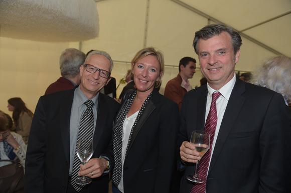 34. Gilles Claus (Expertafinances), Virginie Regaldo et Jacques Maureau, président de l'Ordre des Experts Comptables Rhône-Alpes