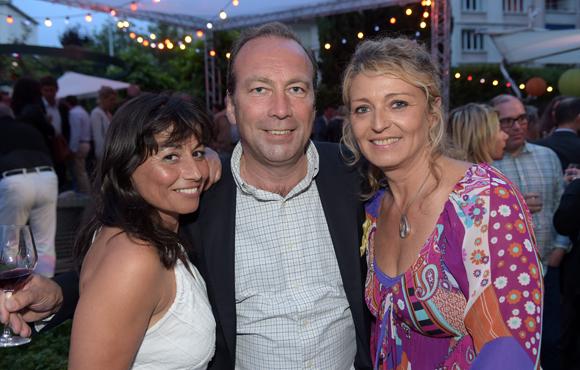 35. Joëlle Marie Berjon (Jo'elle), Michel de Lanversin (A3R) et Florence Beylat (Short-Line)
