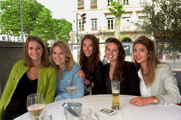 3. Lauren, Priscillia, Lucie, Charlotte et Maïlys
