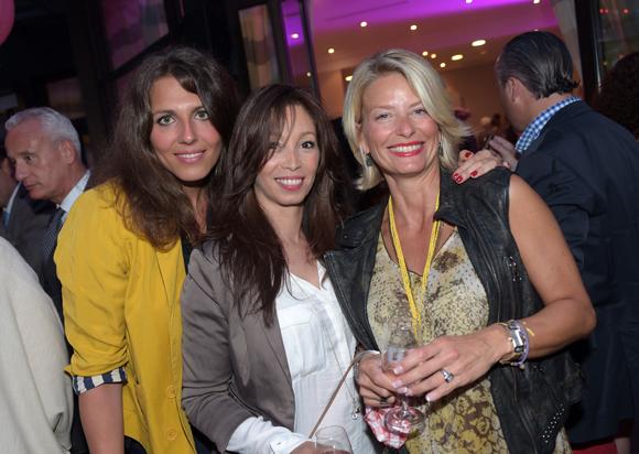 36. Marie-Laure Lapierre (Christine Laure), Siem Saïad (AXA) et Edith Nay-Perret (Avent'i Médical)
