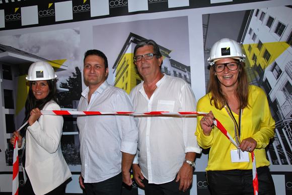 36. Mélanie Thouret (Alchimistes & Co), Didier Carre (COEG), M. Cirer et Cécile Verget (Alchimistes & Co)