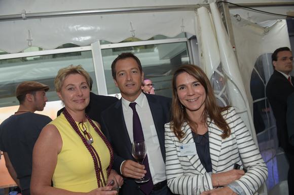 36. Sabine Commaret (Banque Populaire), Charles Darnault (Diagonale) et Valérie  Escot (Banque Populaire)