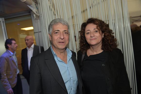 38. Patrick Fitoussi et son épouse Carine (NCC)