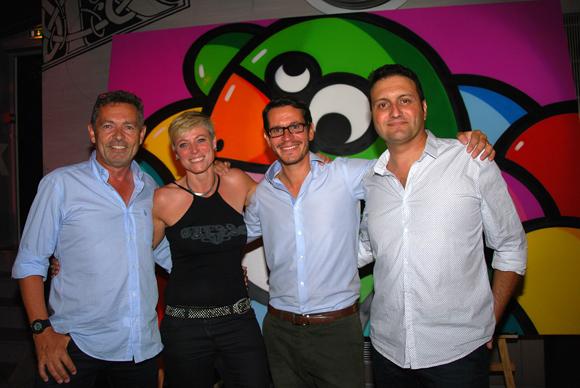 41. Jean-Jacques Daunay (Artebat), Bruno Desporte (Habitat Foncier), Sandra Poupée et Didier Carre (COEG)