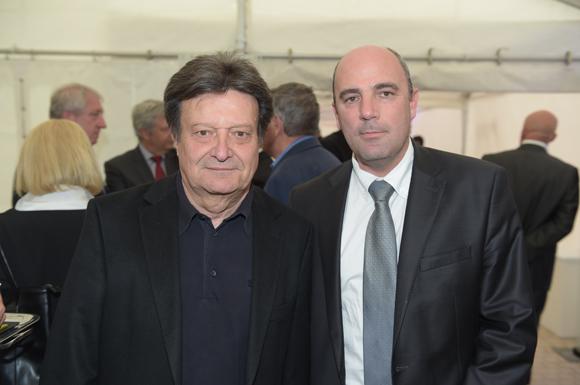 4. Bernard Peillon (ESI) et Laurent Gerentes (Banque Populaire)