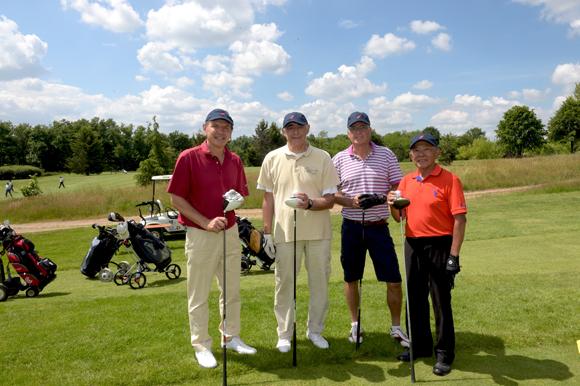 4. Antoine Biton, Jacky Abecassis, Philippe Gouttes et Christian Mai