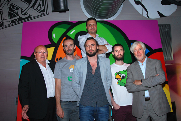 43. Yvon Zaco, Didier Carre, les BirdyKids et Christian Lonchamp