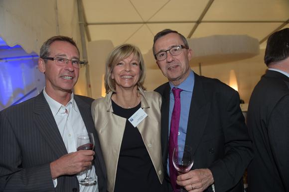 43. Guy Revillet (Vibook), Ghislaine Loze (Banque Populaire) et le docteur Christian Tachon