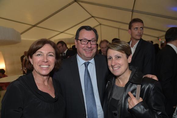 44. Monique Tachon, Denis Feuillant (Place d'échange) et son épouse Marie-Françoise (Processium)
