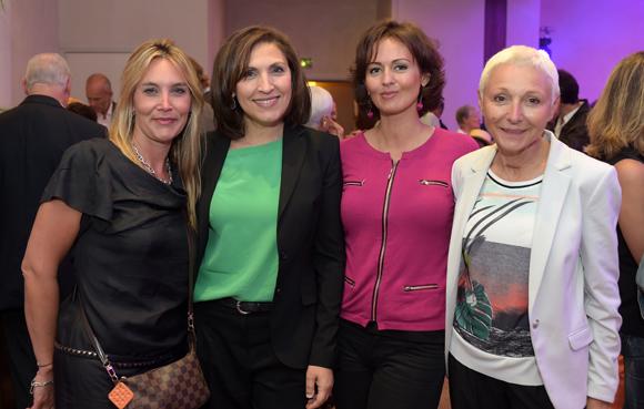 44. Stéphanie Gagnaire (Brice Robert), Nora Berra, Sonia Philippot (Jeïto) et Marie-José Gherardi (Le Progrès)