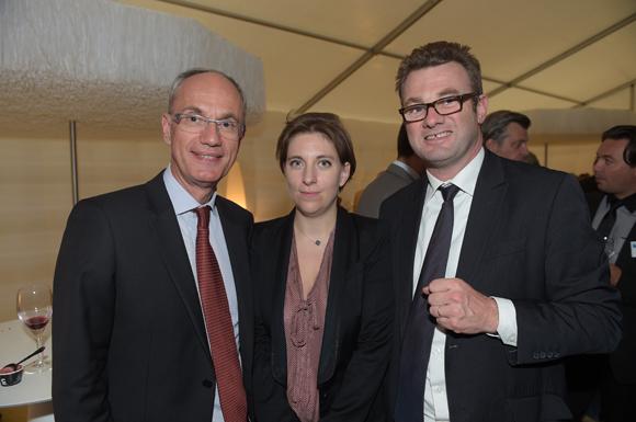 45. Jean-Pierre Gillet, Sophie Berthier et Christophe Ducoulombier (Banque Populaire)