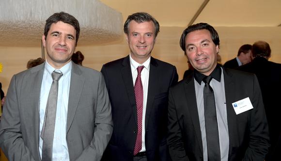 46. Thierry Turpin, Jacques Maureau et Cédric Daneyrol (Banque Populaire)