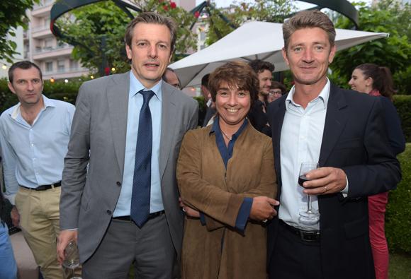 46. Pascal Blache, maire du 6ème, Nathalie Berberian (Nexity) et Damien Gouy-Perret
