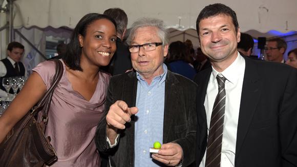 47. Patricia Vieu (BPCE), Maurice Bettant (Trophée Smart) et Eric Toussaint (BP2L)