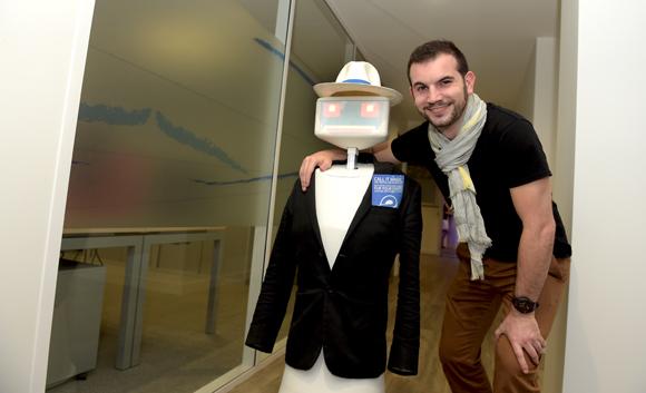 48. Le robot Sheldon  et Maxime Vallet (Evotion)