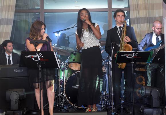50. Sur scène, le groupe Jean-Pierre Verdolini Jazz Band productions