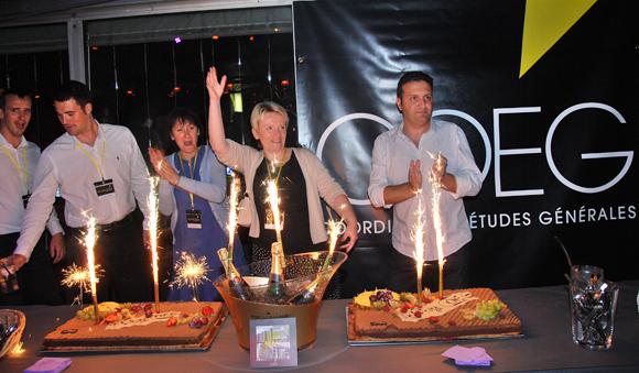 50. Gâteau et… champagne !!!