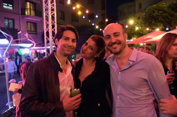 59. Philippe Rejany (NRJ), Opaline Rochefort (Pralus) et Nicolas David (MFM Radio)