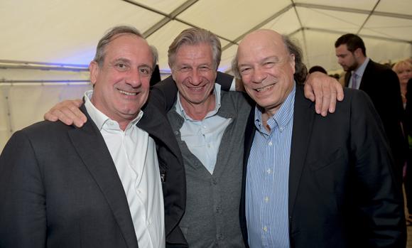 60. Philippe Florentin (Bieh), Claude Polidori (Maison Victoire) et Victor Bosch (Le Radiant)