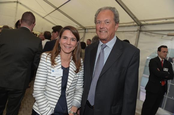 7. Valérie  Escot (Banque Populaire) et Daniel Duquesne