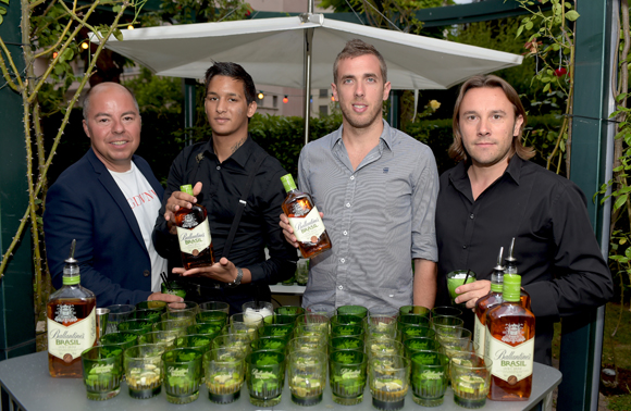 7. Jean Burdy, Jimmy Cassar, Stéphane Croc et Johan Castilla (Groupe Pernod)