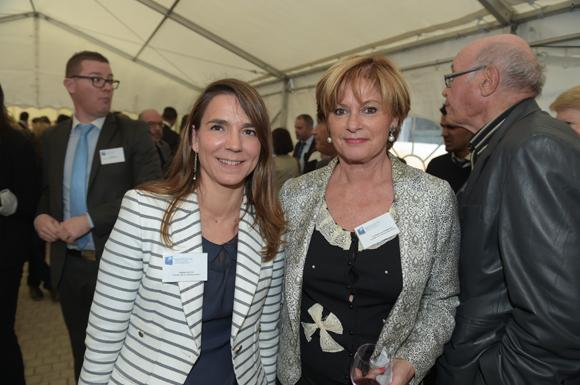 8. Valérie  Escot et Christiane de Barbeyrac (Banque Populaire)