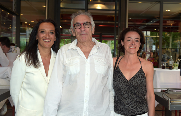8. Sandrine, Albert et Catherine