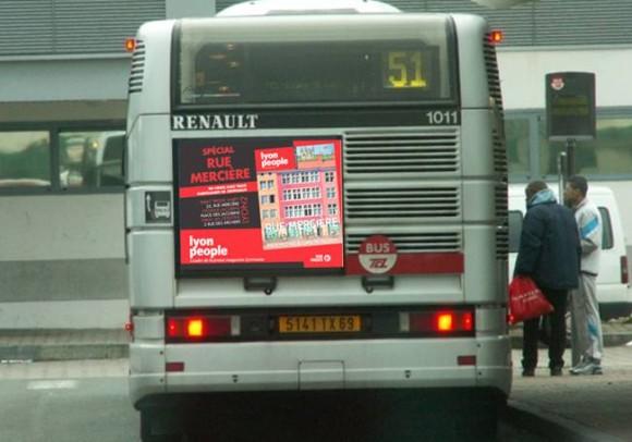 Cul de bus navette Presqu'ïle