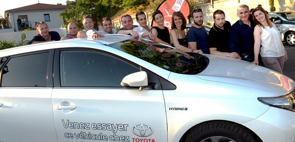 10. L'équipe de Toyota Sivam
