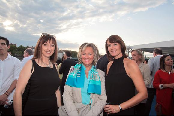 10. Dominique Doutaz-Moine (BNP Paribas Real Estate), Maryse Cadegros (Brice Robert Arthur Loyd) et Karine Mazaud (DTZ)