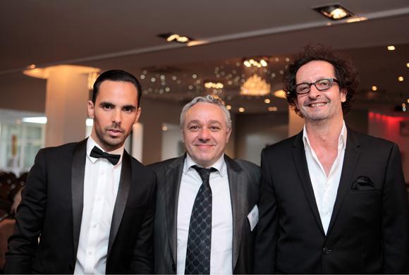 1. Ludovic Barras, parrain de promotion, Serge Le Strat, directeur général du groupe EDH et Jean-François Croës, directeur de l'EFAP Rhône-Alpes