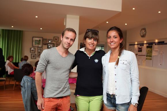 12. Nicolas Duval (Takeay), Véronique Augier, dentiste et Mathilde Augier (IUT Annecy)