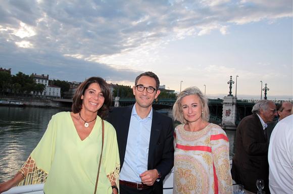 12. Blandine Brochier (Partition), Maître Alban Pousset-Bougere, avocat (Dana & Associés) et Valérie Melon (Brice Robert)