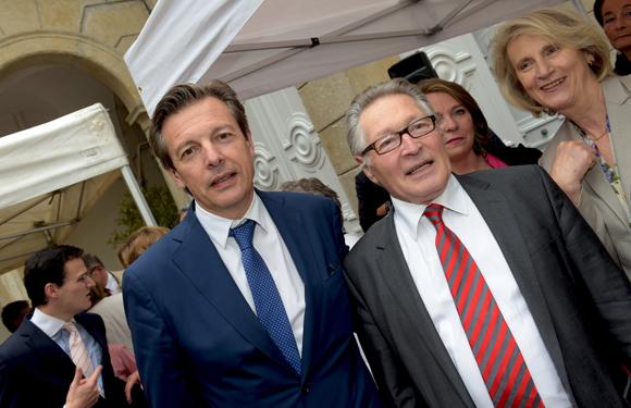 13. Pascal Blache, maire du 6ème et Jean-Jacques David, ancien maire du 6ème