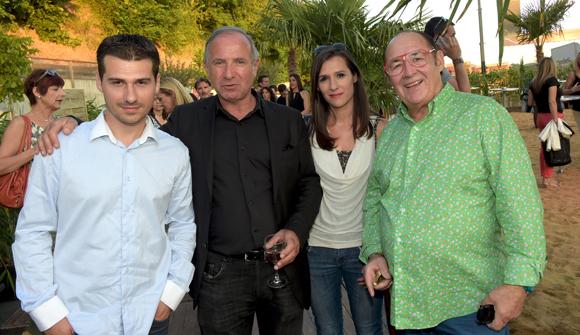 14. Sylvain, Gérard, Magali et Guy