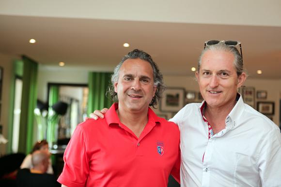 14. Philippe Liuicci (Ivanhoé) et Pascal Auclair