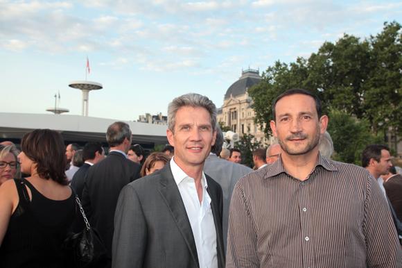 15. Hugues Devillard (Axite CBRE) et Marc Genty (CBRE)