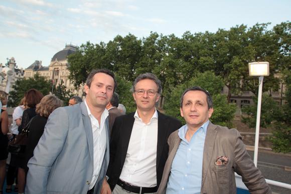 16. Mayeul de Fontgalland (Ici Développement), Nicolas de Barjac (Keops) et Marc Favaro (Afaa Architecture)