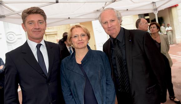 16. Damien Gouy-Perret, directeur de cabinet du maire du 6ème, Hervé Brun, adjoint au maire du 6ème et son épouse Jeanne
