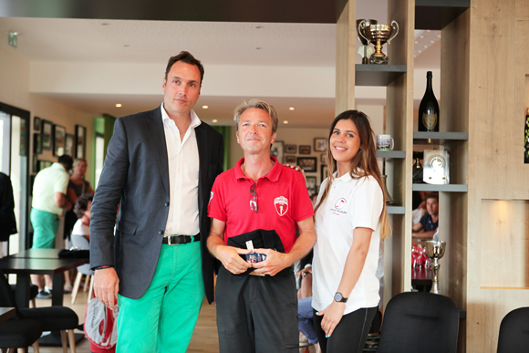 18. Fred, Thierry Vincent (Travel Golf Prestige), Lea (hôtesse)