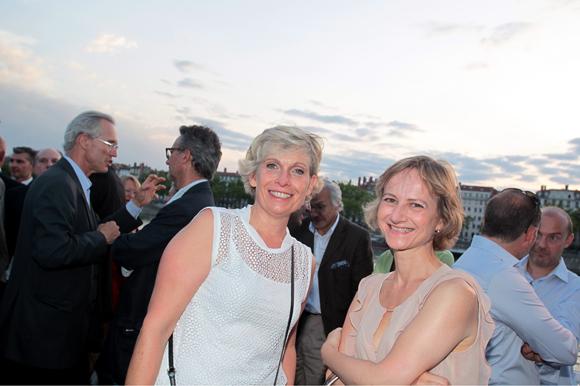 18. Isabelle Ardail (Caisse d'Epargne Rhône-Alpes) et Ghislaine Seguin (ANF Immobilier)