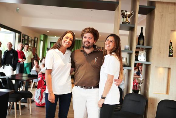 19. Hadrien Payrot entouré d'Aurélie Alves et Léa Neverre (Maublanc)