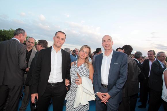 19. Vincent Decamps (Real Blue), son épouse Julie (Orange) et Lionel Debaux (Real Blue)