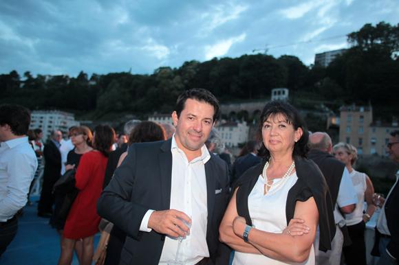 20. Thomas Durand (DTZ) et Michèle Deville (Cefage Construction)