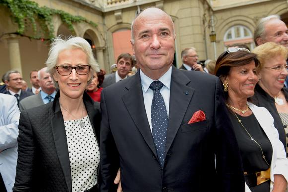 21. Roland Roux de Chavanes, consul de Côte d'Ivoire et son épouse Raphaëlle
